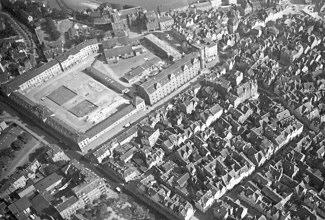 Luftbild von Nordwesten; Aufnahme aus der Zeit vor dem II. Weltkrieg