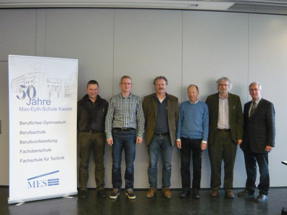 von links: Herr Deiseroth, Herr Otto, Herr Brauner, Herr Neumann, Herr Kuhley, Herr Koch